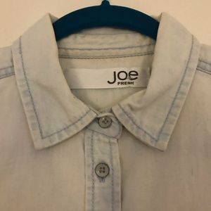Joe Fresh Denim button down
